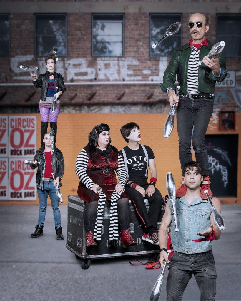 "Circus Oz 2018 ""ROCKBANG"" - Andrew Wuttke"